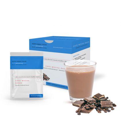 New Direction Advanced Cafe Mocha Shake Box Foil Product
