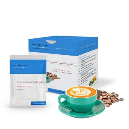 New Direction Advanced Cappuccino Box Foil Product
