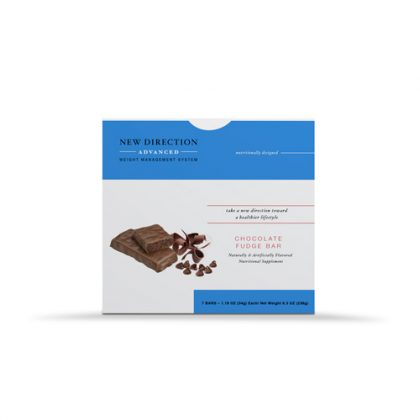 New Direction Advanced Chocolate Fudge Bar Box