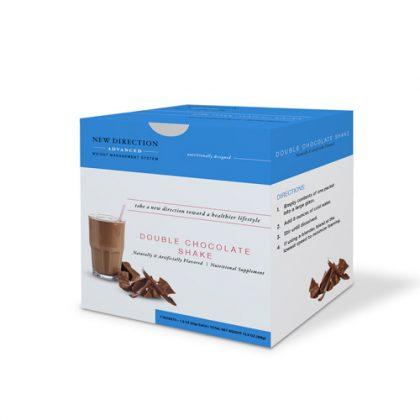 New Direction Advanced Double Chocolate Shake Box