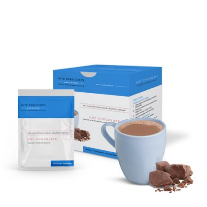 New Direction Advanced Hot Chocolate Box Foil Product