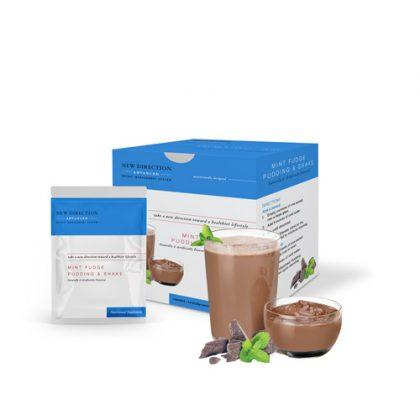 New Direction Advanced Mint Fudge Pudding & Shake Box Foil Product