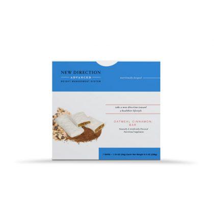 New Direction Advanced Oatmeal Cinnamon Bar Box