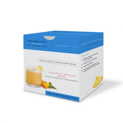 New Direction Advanced Pineapple Apricot Drink Box