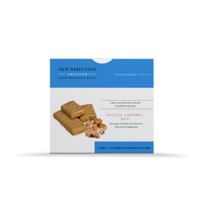 New Direction Advanced Salted Caramel Bar Box