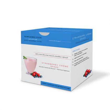 New Direction Advanced Strawberry Creme Shake Box